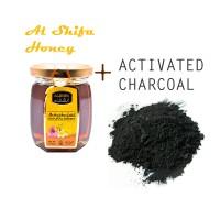 Activated Charcoal ( Arang Aktif ) 150 Gr + Natural Madu Arab Al Shifa