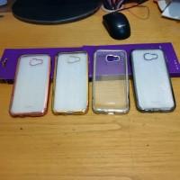 Samsung A5 2017 TPU Shinning Chrome Case / Casing / Softcase / Bumper