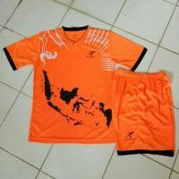 Kostum Volly / Jersey Futsal / Baju Tim Bola / Kaos Setelan Olahraga