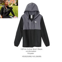 Victoria secret VS PINK Active Black Hoodie Jacket PJ