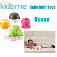 Kidsme Baby Bath Toys Ocean / Mainan Mandi Kidsme Ocean