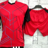 harga Baju Setelan Adidas Heksa Red Merah Kaos Futsal,Gym,VollyOlahraga Tokopedia.com