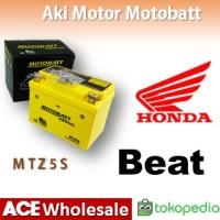 Aki Honda Beat MOTOBATT MTZ5S Gel MOTOBAT MOTTOBAT MOTOR
