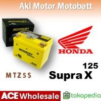 Aki Honda Supra X 125 MOTOBATT MTZ5S Gel MOTOBAT MOTTOBAT MOTOR