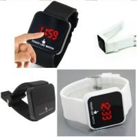 Jam Tangan Pria LED Layar Sentuh Keren LED Watch Touch Screen Jam LED