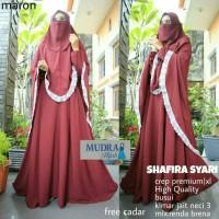 grosir murah baju muslim Shafira syari crepe