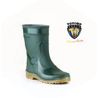 TOYOBO boots TYB 1688 sepatu boot pendek hitam hijau maroon biru