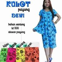 Setelan Kulot Dewi/Daster Kulot