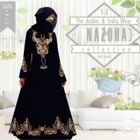 Jual Baju Gamis Pesta Margareth | longdress-arab-hitam-jumbo-gamis original Murah