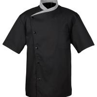 Jual baju chef pria/wanita lengan pendek Murah