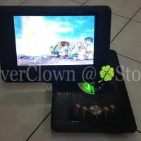 Jual DVD Portable 14inch Asatron - USB / MMC / TV Tuner / Games / DVD Gojek Murah