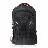 Tas Daypack Merk PALAZZO 35782 + Raincover Ransel Sekolah/Kerja/Kuliah