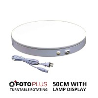 FOTOPLUS TURNTABLE ROTATING DISPLAY 50CM WITH LAMP