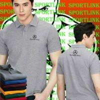 Jual Polo shirt/Kaos kerah Mercedes benz Murah