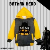 Jaket Anak Laki-Laki Batman Hero