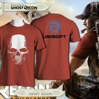 Tshirt Gamer Ghost Recon For Ubisoft