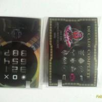 kamen Rider Decade Card K Touch ( Costum)