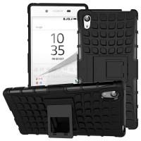 Hybrid Case Rugged Armor Bumper Premium Hard Cover for Sony Xperia Z