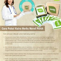 KAIRA HERBS Original Navel Patch 100% Natural Herbs