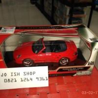 Motormax - PORSCHE 911 TURBO CABRIOLET 1:24