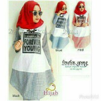 [ZES] forever young blouse / tunik