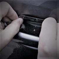 stiker mobil pelindung handle pegangan pintu anti gores lecet keren