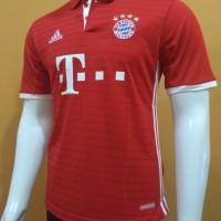 Jual Jersey Baju Bola Grade ORI Bayern Munchen Home Official 2016-2017 Murah