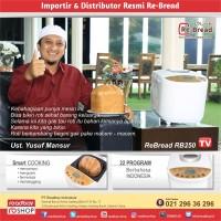 Re-Bread RB250 Gold / Breadmaker Otomatis / Re-Bread Mesin Roti