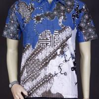 Jual Baju Batik, Batik Pria,Kemeja Batik Atasan Pria // Batik Terbaru 3660 Murah