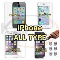 Tempered Glass iPhone 4 5 5s 6 6s Plus 7 7s 7 Plus 8 8s 9 9s Plus + c