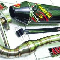 Knalpot Racing Norifumi Monster Fulsystem KLX 150 S/L/BF d'Tracker/NEW