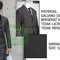 harga Setelan Jas Pria Slim Fit Semi Wool 3in1| Jas, Celana, Rompi Tokopedia.com
