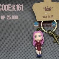 gantungan kunci haruno sakura action figure lucu anime naruto