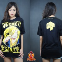 KAOS ONE PIECE SANJI KING