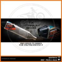 Knalpot Pro Speed KTM 250 exc-f / 350 exc-f / 450 exc 2016