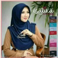 Jilbab Instan Isaura Pad Antem / hijab simpel polos sehari hari