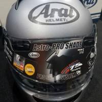 Full Face Arai Astro Pro Shade Frost Grey size L