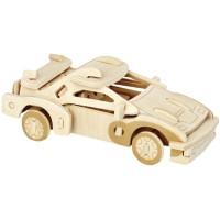 Mainan Edukatif 3d Wooden Puzzle Woodcraft Contruction KitS F-20