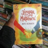Buku Novel Jingga Untuk Matahari , By : Esti Kinasih