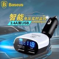 BAGUS!! Baseus 3.4A Dual USB Intelligent Voltage Real T Murah