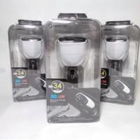 BAGUS!! Capdase car charger monitor T2 3,4 ampere Berkualitas