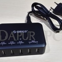 BAGUS!! Orico USB Wall Travel Charger Hub 5 Port - DCAP Limited