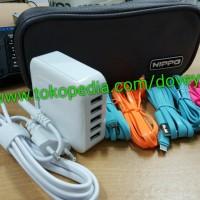 BAGUS!! Hippo Penta Charger Adaptor 5 Port BB Samsung I Diskon