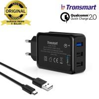 BAGUS!! Tronsmart TS-WC3PC 3 Port Qualcomm Quick Charge Limited