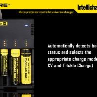 BAGUS!! Universal Battery/Baterai Charger Nitecore Inte Murah