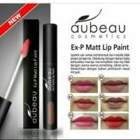Aubeau Ex-p Matte Lip Paint - Lipstick - Lipstik Cair
