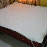 Matras Cover pelindung Spring Bed uk King/Qu Murah