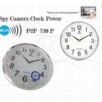 "Spy Camera Clock Wall "" POWER "" ( WIFI / HD / P2P )"