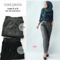 celana panjang wanita max pants ( BISA DIPAKAI KANTOR )