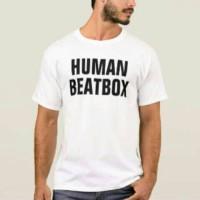 t shirt kaos human beatbox